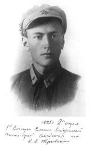 Фото_Михаил Клавдиевич Тихонравов - начальник 2-й бригады ГИРД, занимающейся разработкой БР на жидком топливе. 1925 г.