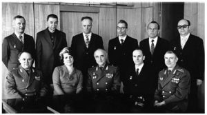Фото_Группа Тихонравова и руководство 50 ЦНИИ КС, 1976 г.