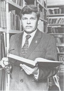 Б.В. Новоселов – председатель ковровской организации общества «Знание»