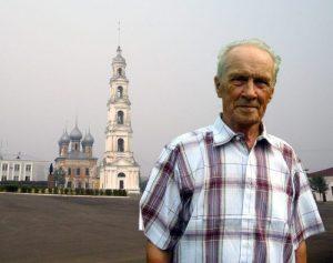 М.И. Черногубов в родном Юрьевце