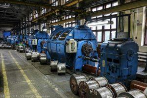 Цех завода «Электрокабель»